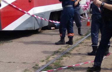 У Миколаєві трамвай на смерть переїхав пішохода