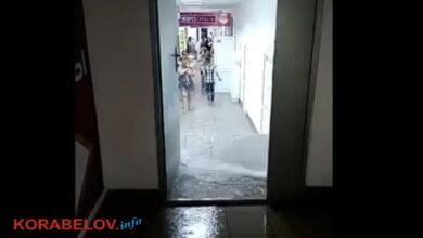 Потоп и обвал потолка в супермаркете - лишь часть последствий непогоды в Корабельном районе (ВИДЕО) | Корабелов.ИНФО