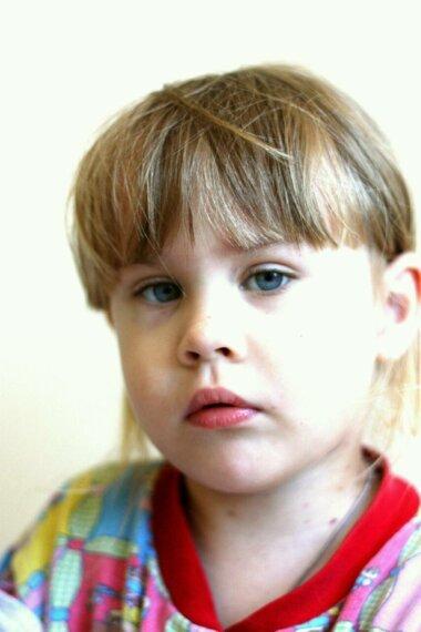 Алёнушка Кашпуренко (3 года и 4 месяца)