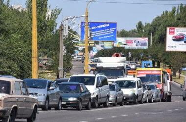 В Медовый Спас на въезде в Корабельный район случилось три ДТП с участием семи машин