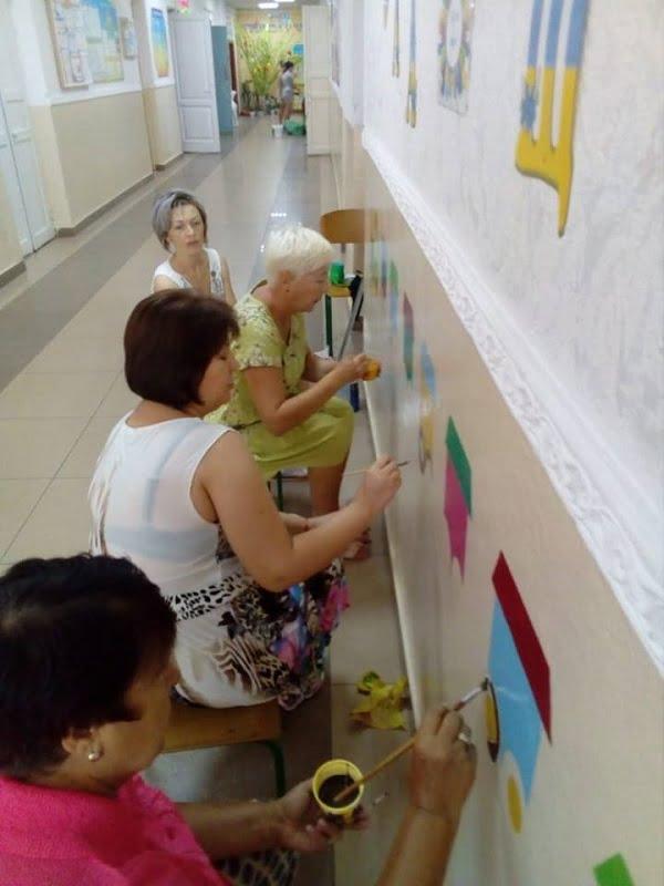 Креативно підготувалися до зустрічі з дітворою в школі Корабельного району