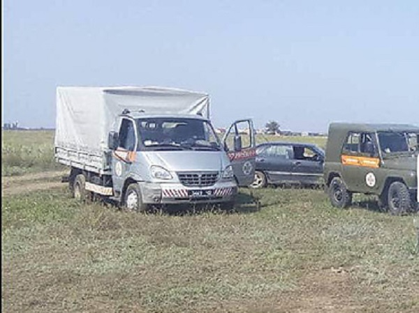 Пришлось взорвать: противотанковую мину откопали в Корабельном районе работники «Николаевводоканала»