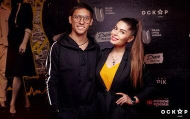 Илья Кваша с женой Илоной