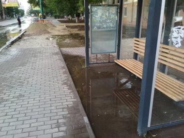 """остановка """"Рынок"""" в Корабельном районе"""