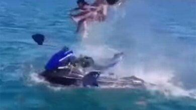 Видео взрыва гидроцикла с туристами в Черном море. 18+ | Корабелов.ИНФО