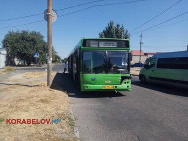 автобус с работниками НГЗ