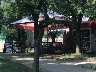 """пивная палатка в сквере """"Комсомольский"""""""