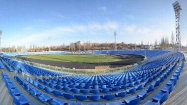 На строительство футбольного поля на Центральном городском стадионе Николаева дополнительно направят 8 млн грн