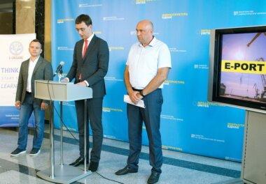 В Міністерстві інфраструктури України презентовано проект Е-Port на базі ДП «СК «Ольвія» (Відео)