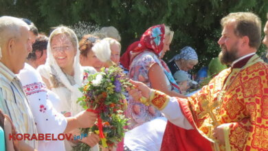 Мешканці Корабельного району Миколаєва залюбки відзначили Медовий Спас (ВИДЕО)   Корабелов.ИНФО image 20