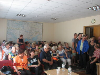 ЖЭКовцы на встрече с депутатами горсовета