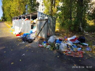 мусор в Корабельном районе