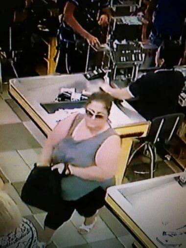 подозреваемая в краже телефона