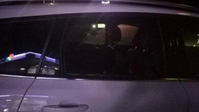 автомобиль, ограбленный на АЗС