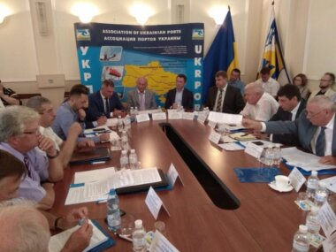 Засідання Ради Асоціації портів України