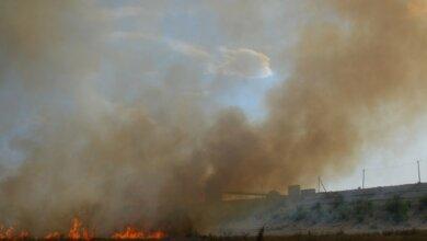 Photo of После того, как Сенкевич поручил Цуканову заняться Октябрьским водохранилищем, его территория загорелась