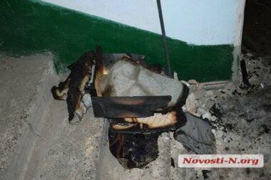 В запертой квартире в Николаеве во время пожара погибла женщина