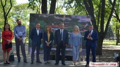 Сенкевич в Николаеве торжественно открыл детскую площадку, которую установили силами Дятлова   Корабелов.ИНФО image 5