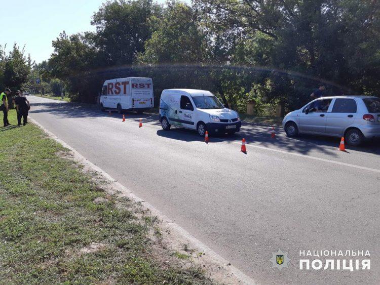 автомобиль сбил 10-летнего школьника