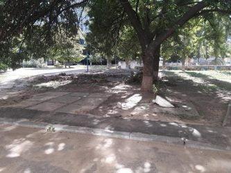 двор по ул. Океановской