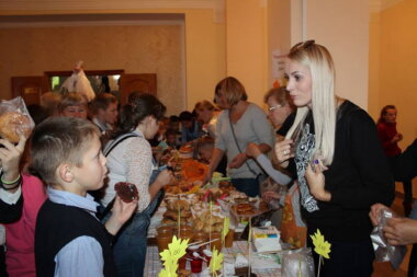 благотворительная ярмарка в школе № 29