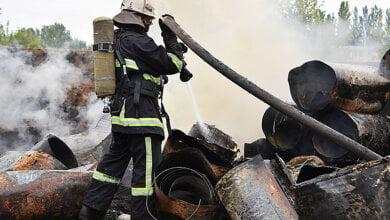 Вероятной причиной пожара на свалке бытовой техники в Корабельном районе Николаева стал поджог | Корабелов.ИНФО