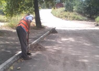 уборка дорог в Корабельном районе