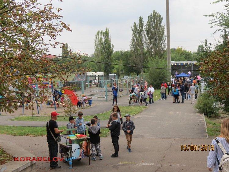 Корабельний район прийняв естафету святкування Дня міста