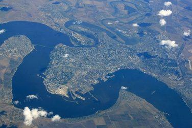 Николаев и близлежащие села