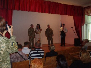«Свято відбулось на славу», - творчий колектив палацу культури «Корабельний» привітав військових з Днем воєнної розвідки