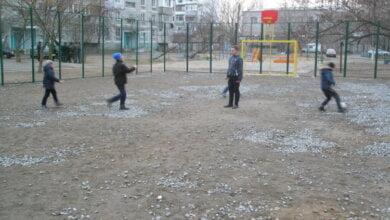 Photo of Проект з оновлення футбольного майданчика по пр. Корабелів — серед інших у конкурсі «Громадський бюджет»