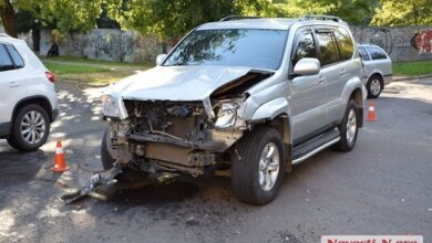 Пьяный водитель на «Мазде» врезался в «Тойоту Прадо» в центре Николаева - пострадал пассажир | Корабелов.ИНФО image 7