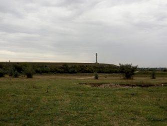 Вид на місце розташування старовинної фортеці
