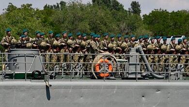 Николаевские морские пехотинцы завтра пройдутся маршем по городу и почтут память погибших сослуживцев | Корабелов.ИНФО