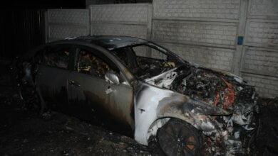 В Николаеве ночью сгорел «Лексус» | Корабелов.ИНФО