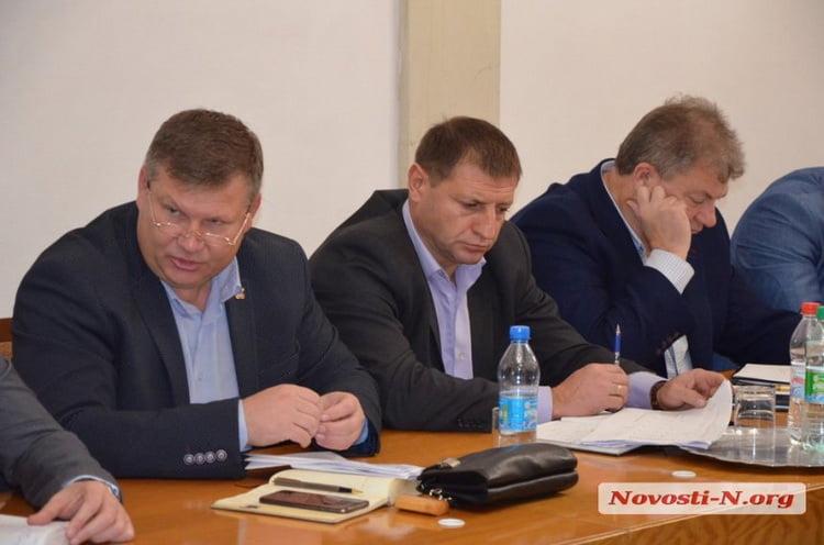 """""""Вы какие-то терпилы?"""" - мэр города Николаева Сенкевич - главе администрации района"""