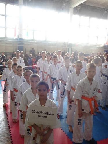 Юные спортсмены из Корабельного района Николаева завоевали награды в двух турнирах (ВИДЕО)