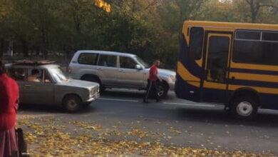 """конфликт между водителем автобуса №114 и пенсионером в """"легковике"""""""