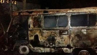 Возле частного дома в Витовском районе горел «УАЗ» | Корабелов.ИНФО