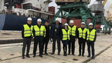 Стивідорну компанію «Ольвія» відвідали представники China Harbour Engineering Company Ltd. | Корабелов.ИНФО image 1