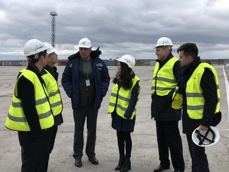 Стивідорну компанію «Ольвія» відвідали представники China Harbour Engineering Company Ltd.