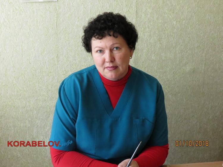 старшая медсестра приемного отделения горбольницы №5 Татьяна Кучерюк