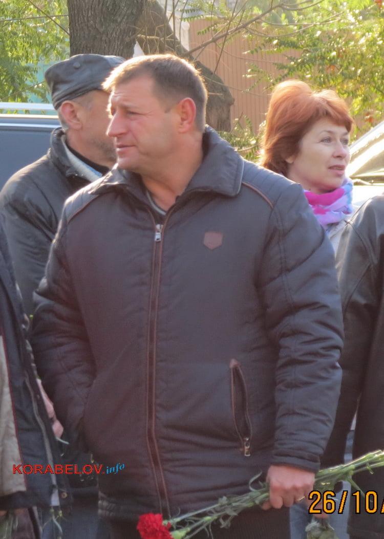 Заступник голови адміністрації Корабельного району Олександр Гвозденко