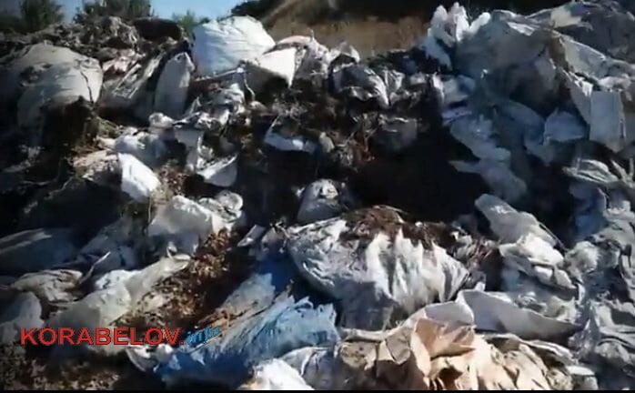 мусор на свалке Валиева
