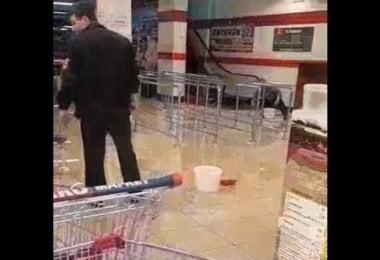 """потоп в """"ЭКО-маркете"""""""