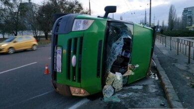 Пострадал пьяный водитель: в Николаеве перевернулся микроавтобус   Корабелов.ИНФО image 2