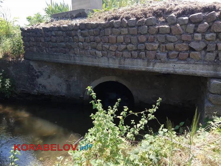 мост через речку Витовку