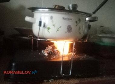 приготовление еды на сухом спирте