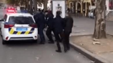 В центре Николаева мужчина подрался с патрульным полицейским, который регулировал движение | Корабелов.ИНФО