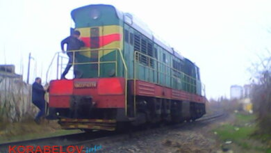 локомотив, сбивший женщину в Корабельном районе